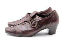 GABOR Pumps Gr. 39 UK 6 G Braun Leder Echtleder Damen Schuhe + Kaum getragen