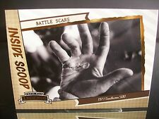 Rare Press Pass Legends Inside Scoop BATTLE SCARS 2011 Card #80 1971 Darlington