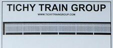 Tichy Trains***** 5 X RAIL PICKET FENCE in White ******HO Model trains