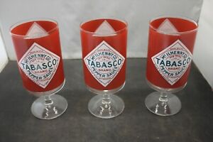 Tabasco McILHENNY CO. Pepper Sauce Bloody Mary Glass Free Shipping