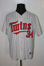 Vintage Russell Minnesota Twins Kirby Pukett White Authentic Jersey 2XL *Defect