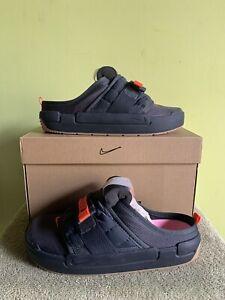 Size 8.5 | (Damaged Box) Nike Offline Anthracite Electro Orange | SHIPS FAST
