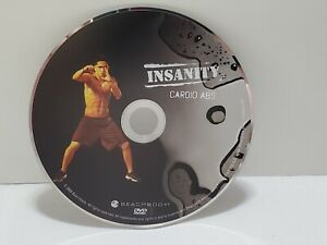 Insanity - Cardio Abs - DVD Home Fitness Workout Replacement Disc Only