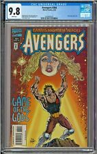 Avengers #383 CGC 9.8 White Pages Cover Date Error