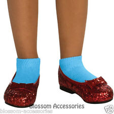 S33 The Wizard of Oz - Dorothy Ruby Red Girls Child Slippers Shoes
