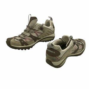 Merrell Siren Sport Elephant Continuum Hiking Shoes Womens Size 7 Tan J13888