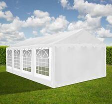 XXL 5x8m Bierzelt Zelt Pavillon Partyzelt Festzelt Vereinszelt 500g/m2 PVC NEU