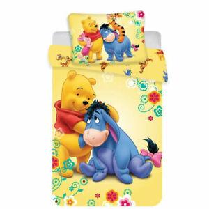 Winnie Pooh Bettwäsche/ Babybettwäsche 100 x 135 cm 100% Baumwolle