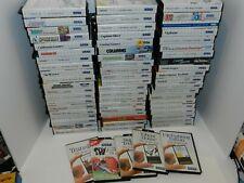 Sega Master Games Complete Fun You Pick & Choose Video Games Lot SMS