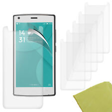 5 Pack PET Film Screen Protector Guard For DOOGEE X5 MAX