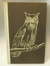 WINTER VISITORS, by Mary McCarthy,1970 Limited First Edition, GREAT HORNED OWL