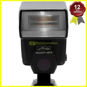 Flash Metz 40AF-4M TTL per fotocamere Minolta Dynax e Maxxum analogiche.