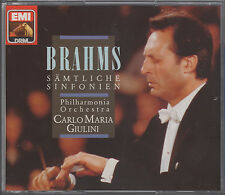 Giulini/Philharmonia: Brahms 4 Symphonies, etc. - EMI CZS 25 2168 2 (3CD set)