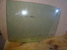 SKODA OCTAVIA MK1 SALOON LEFT PASSANGER SIDE REAR DOOR GLASS WINDOW 1996 - 2005
