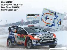 DECALS 1/43 FORD FIESTA RS WRC - #14 SOLOWOW - RALLYE DE SUEDE 2014 - NCM131