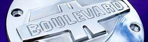 Suzuki M109R Boulevard Engraved Derby / Engine Cover M109 VZR1800 - Polished