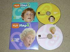 EYE TOY PLAY 2 PROMO & PRESS DISC KIT SONY PLAYSTATION 2 PS2 RARE BUNDLE SET NEW