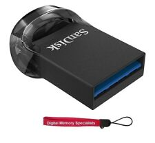 SanDisk 256GB USB 3.1 256G CZ430 Ultra Fit 130MB/s Flash Drive SDCZ430-256G +Lan