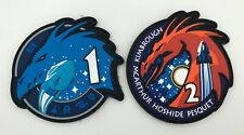 Bundle Space Crew 1 & 2 PVC Patches