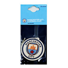MANCHESTER CITY FC AIR FRESHENER FRESHNER CAR ACCESSORY ROOM OFFICE GIFT XMAS