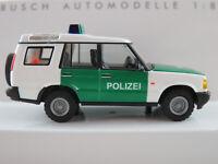 "Busch 51911 Land Rover Discovery Series II (1998) ""POLIZEI"" 1:87/H0 NEU/OVP"