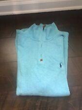 mens polo ralph lauren half zip sweater