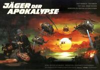 Jäger der Apokalypse ORIGINAL A1 Kinoplakat David Warbeck / Tisa Farrow PELTZER