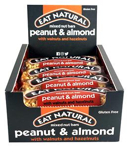Eat Natural Bars Peanuts & Almond with Walnuts & Hazelnuts 12x45g Long Dates!