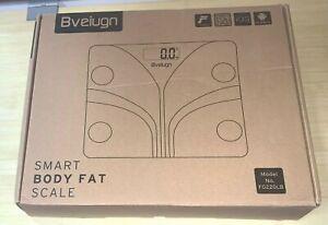 Bveiugn Smart Body Fat Scale Model No. FG220LB