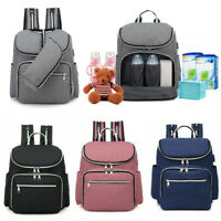 Baby Diaper Backpack Mummy Maternity Nappy Changing Bag Multifunctional Rucksack