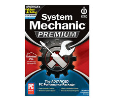 iolo System Mechanic Premium Unlimited PCs Brand New Retail Box 813279007232