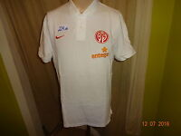 "FSV Mainz 05 Original Nike Herren Spieler Polo-Hemd ""entega"" Gr.L TOP"