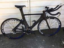 Planet X Exocet Time Trial Bike – 50mm Carbon Wheels – 10 Speed Ultegra - Medium