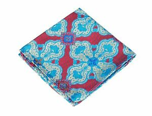 Lord R Colton Masterworks Pocket Square - Cape Horn Pink Ice Silk - $75 New