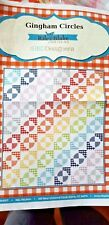 "Gingham Circles Quilting Kit by Riley Blake Designs 54"" x 63"""