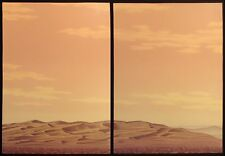 Scott Nellis Untitled Diptych Hand Signed Art Serigraphs Trial Proof sand dunes