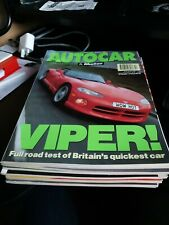 AUTOCAR & MOTOR MAGAZINE 28 APRIL 1993 CHRYSLER VIPER ROAD TEST RENAULT CLIO RSi
