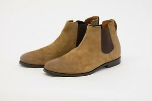NWD Brunello Cucinelli Men Leather Suede Chelsea Ankle Boot Size 42/ 8.5US  A211