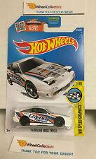 '96 Nissan 180X Type X #176 * White * Hot Wheels 2016 USA Card *G7