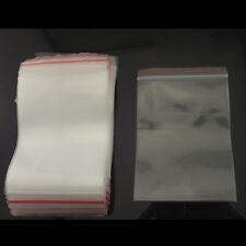 200Pcs 11*6cm Self Adhesive Seal Jewelry Bags OPP Clear For Packaging New Great