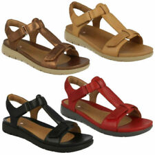 Clarks Leather Strappy Sandals & Flip Flops for Women