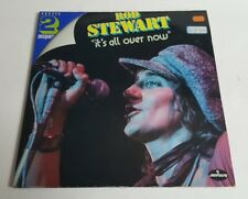 Rod Stewart Its All Over Now Vintage Rare Vinyl 2x LP 1st French Pressing