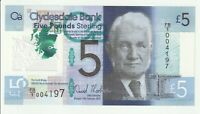 Vintage Banknote Scotland 2015 5 Pounds Sterling Pick 229N Polymer Choice UNC