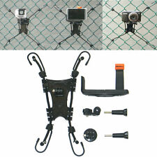 Action Camera Backstop Mount Chain Link Fence Mount fit Baseball/Softball Game