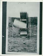 Gold Mining Utah 1937 Original News Service Photo