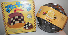 2 New cake pans Checkerboard 4 pc Cake Set & Nordic Rose Bundt Pan Price to Sell