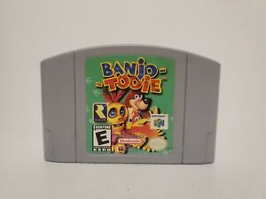 Banjo Tooie N64 (Nintendo 64, 2000) Authentic Tested & Working Fast Shipping