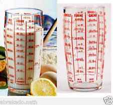 LOT 2 VERRE DOSEUR TRANSPARENT 1,5 LITRE GRADUÉ LUMINARC