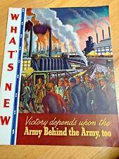 November 1942 Abbott Laboratories- What'S New - War Art by Ernest Fiene