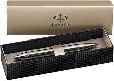 Parker IM Ballpoint Pen - Brushed Metal CT NEW S0856470